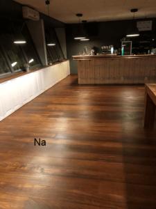 gerenoveerde vloer